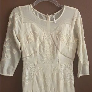 Free People lace maxi dresss